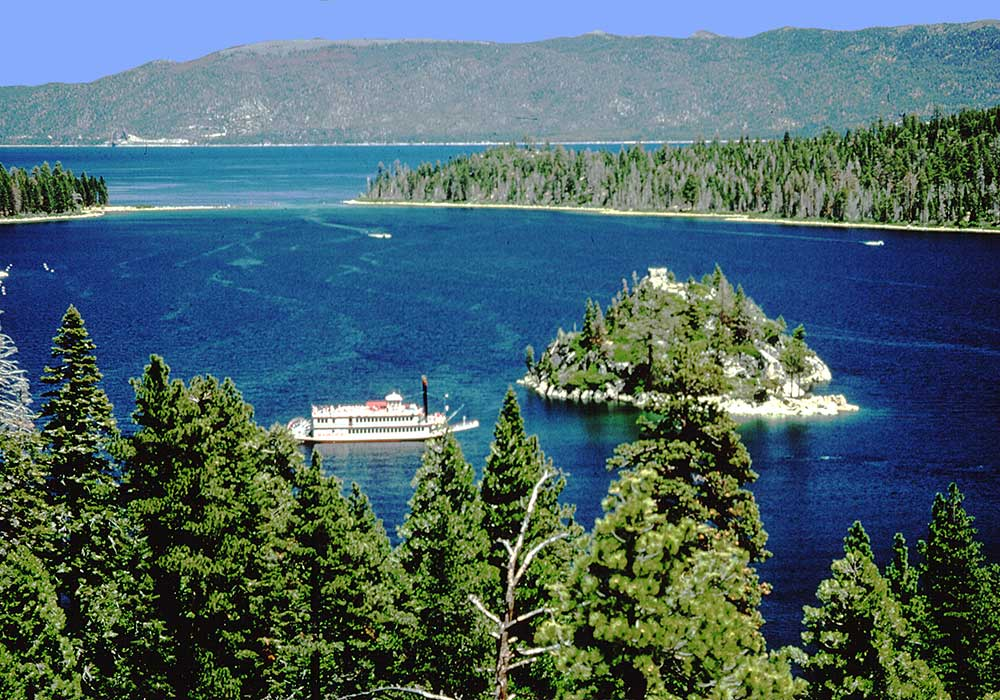 EMERALD BAY AND M.S. DIXIE II - South Lake Tahoe Spring Activites