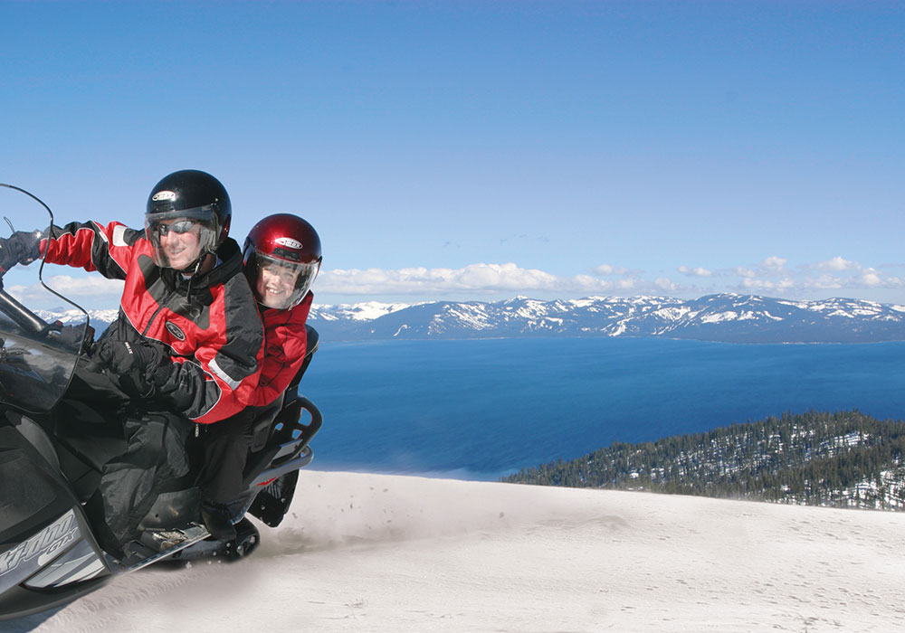 ZEPHYR COVE RESORT SNOWMOBILE CENTER - South Lake Tahoe Winter Activities