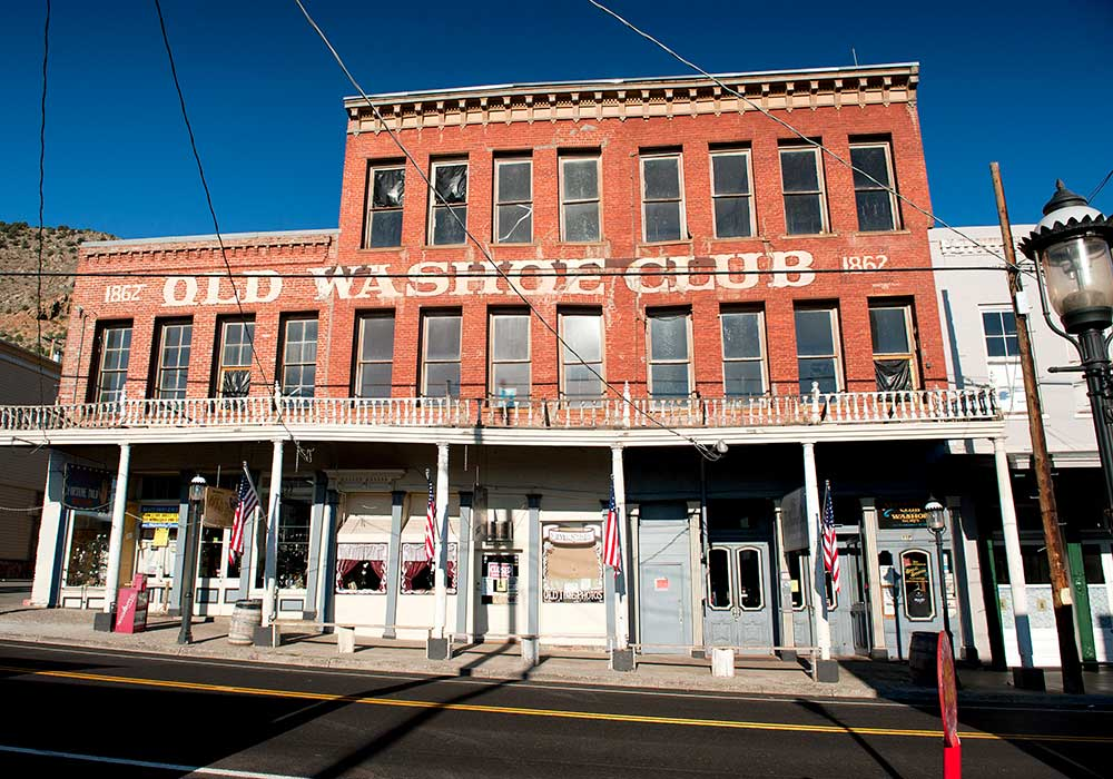 THE OLD WASHOE CLUB - Virginia City Spring Activites