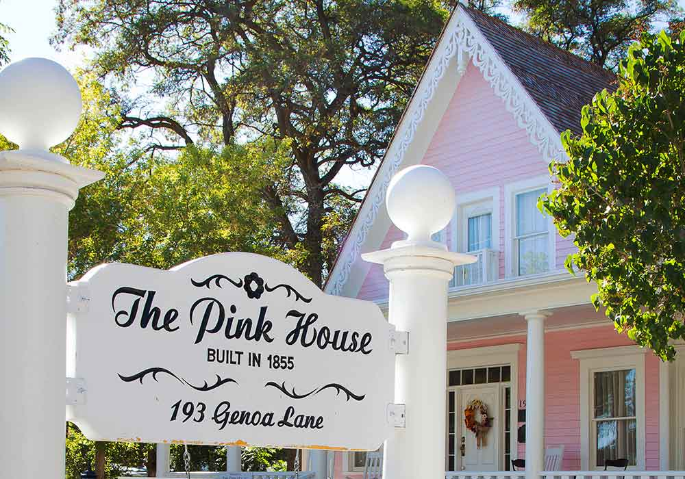 Pink House - Carson Valley Fall Activites