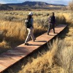 People walking the Carson Valley Trails